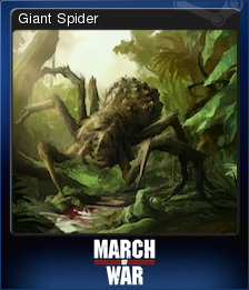 March of War Card 11