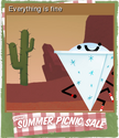 Summer Picnic Sale Card 08
