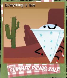 Summer Picnic Sale Card 08