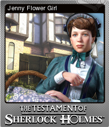 The Testament of Sherlock Holmes Foil 7