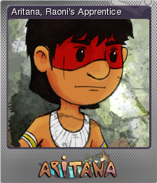 Aritana and the Harpys Feather Foil 1