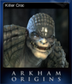 Batman Arkham Origins Card 7