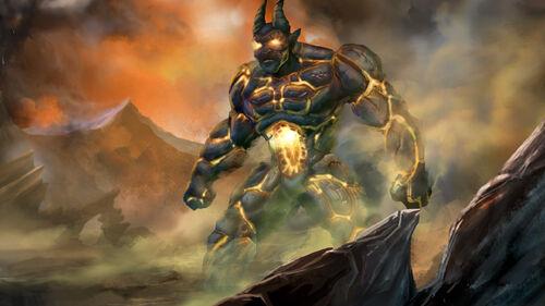 Fallen Enchantress Legendary Heroes Artwork 12
