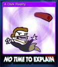 No Time to Explain Card 3
