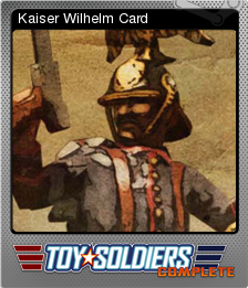 Toy Soldiers Complete Foil 11