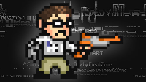 Angry Video Game Nerd Adventures Artwork 1