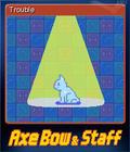 Axe, Bow & Staff Card 5