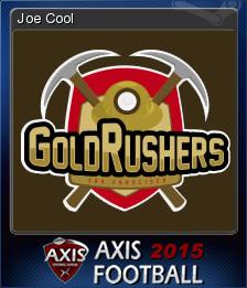 Axis Football 2015 Card 4