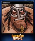 Barbarian Brawl Card 1
