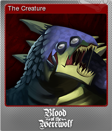 Blood of the Werewolf Foil 5