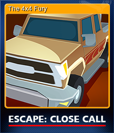 Escape Close Call Card 1