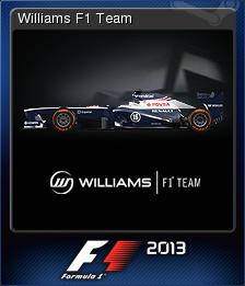 F1 2013 Card 09