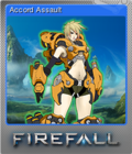 Firefall Card 03 Foil