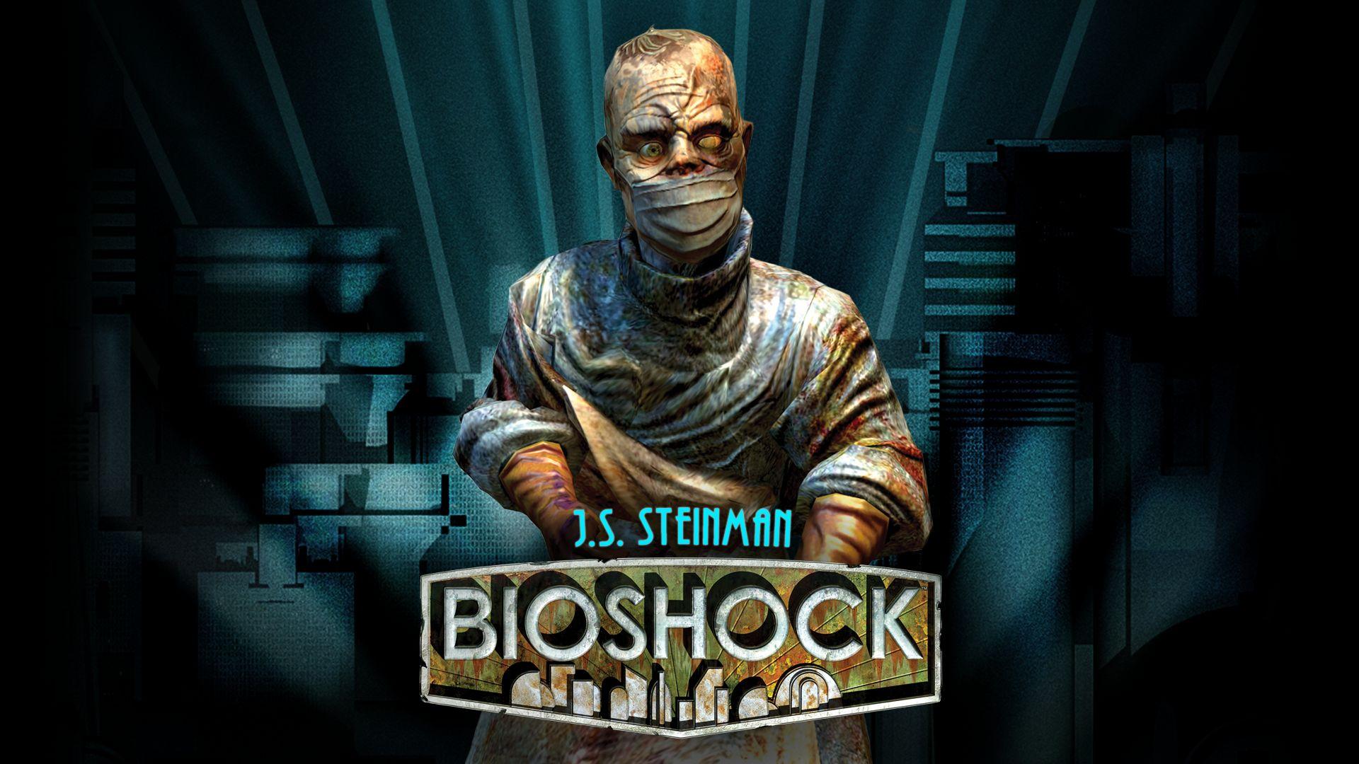 Bioshock remastered j s steinman steam trading cards - Bioshock wikia ...