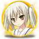 Mahjong Pretty Girls Battle School Girls Edition Badge Foil