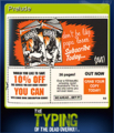 The Typing of the Dead Overkill Card 08