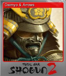Total War SHOGUN 2 Foil 1