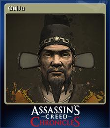 Assassin's Creed Chronicles China Card 3