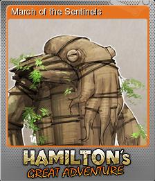 Hamilton's Great Adventure Foil 3