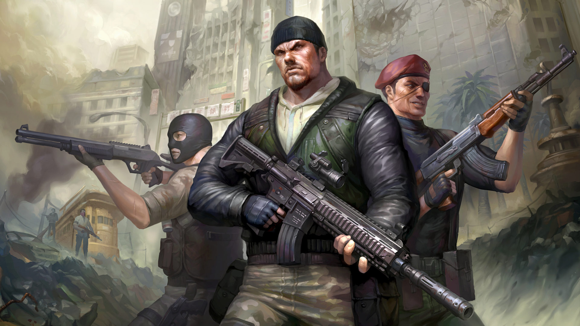 Counter Strike Nexon Zombies Artwork 2