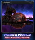 Robo's World The Zarnok Fortress Card 3