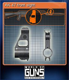 World of Guns Gun Disassembly Card 09
