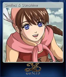 Ys Origin Card 2