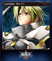 BlazBlue Chronophantasma Extend Card 10