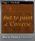 But to Paint a Universe Foil 01