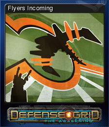 Defense Grid Flyers Incoming