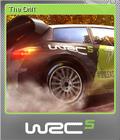 WRC 5 FIA World Rally Championship Foil 3