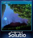 Awakening of Solutio Card 4