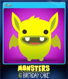 Monsters Ate My Birthday Cake Card 3