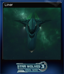 Star Wolves 3 Civil War Card 7