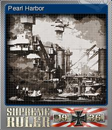 Supreme Ruler 1936 Foil 1