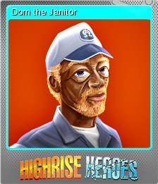 Highrise Heroes Word Challenge Foil 08