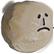 Rock of Ages Emoticon sad boulder