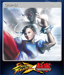 Street Fighter X Tekken Card 3