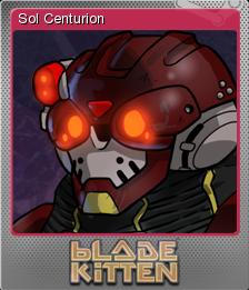 Blade Kitten Card 06 Foil