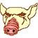 Hotline Miami Emoticon Pig