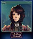The Mahjong Huntress Card 5
