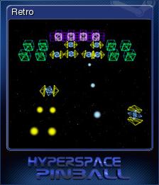 Hyperspace Pinball Card 3