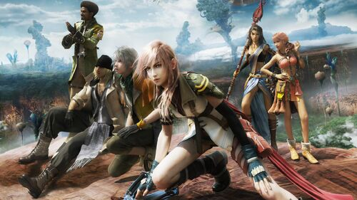 FINAL FANTASY XIII Artwork 4