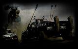 Mad Max Background Wasteland War