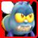 Shiny The Firefly Emoticon so angry