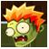 Zombie Wars Invasion Emoticon zmbhead