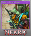 Nekro Card 04 Foil