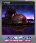 Robo's World The Zarnok Fortress Foil 3
