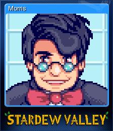 Stardew Valley - Morris | Steam Trading Cards Wiki | FANDOM powered