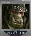Warhammer 40,000 Regicide Foil 09